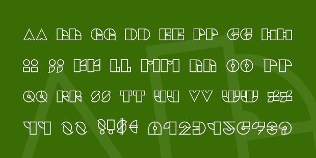outline urban fonts