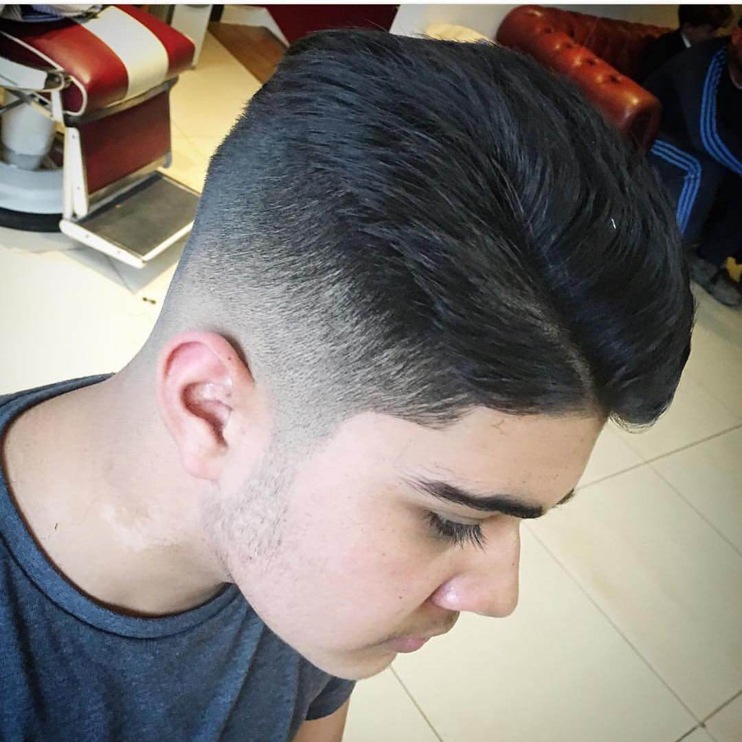 Taper Fade Small Haircut For Summer