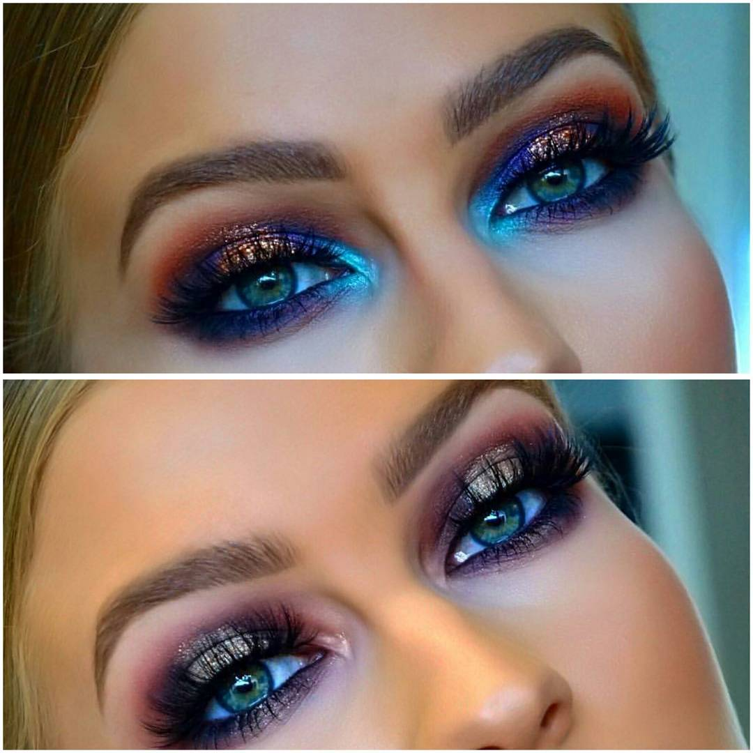 Amazing Blue Eye Makeup Looks So Gorgeous