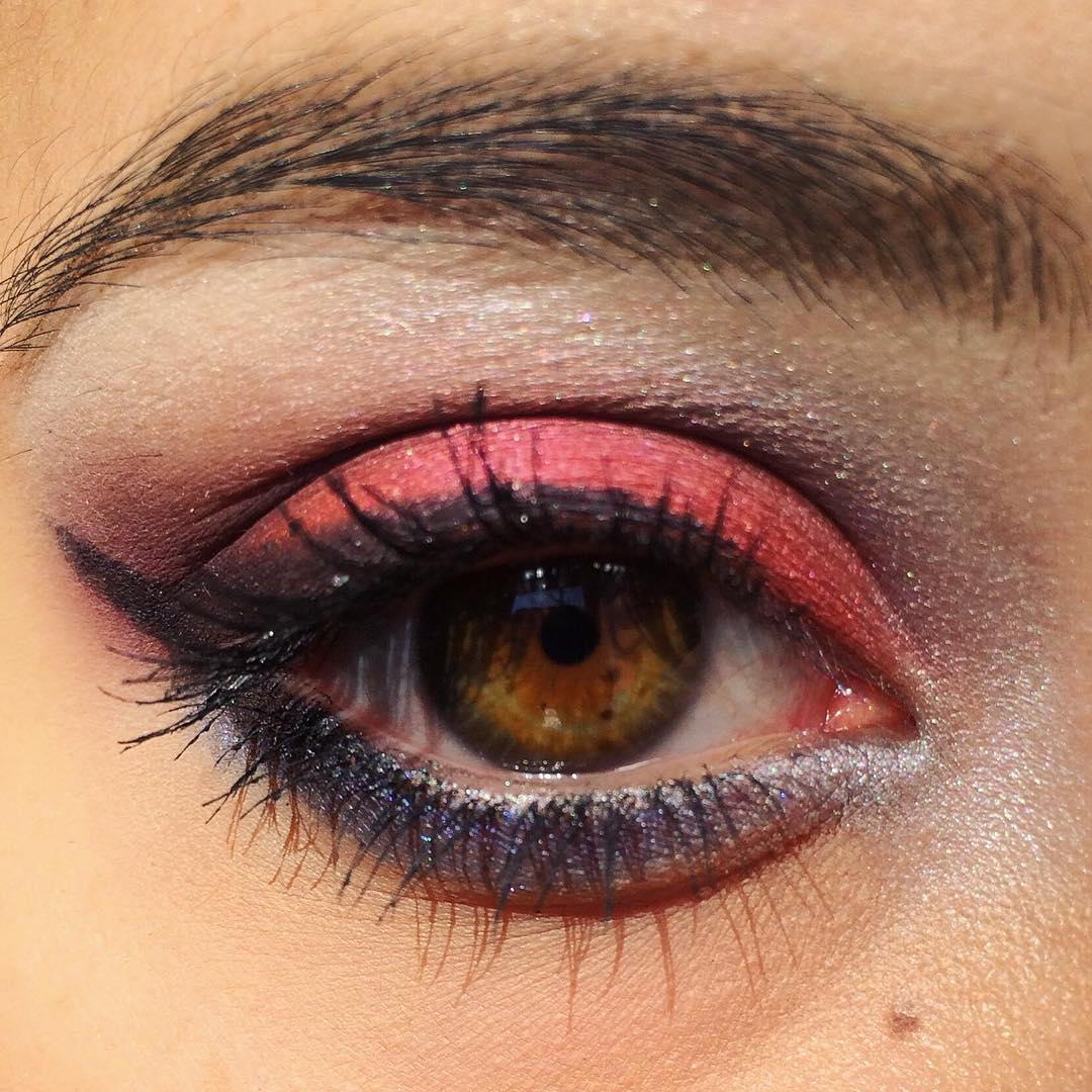 Attractive And Beautiful Eye Makeup Idea