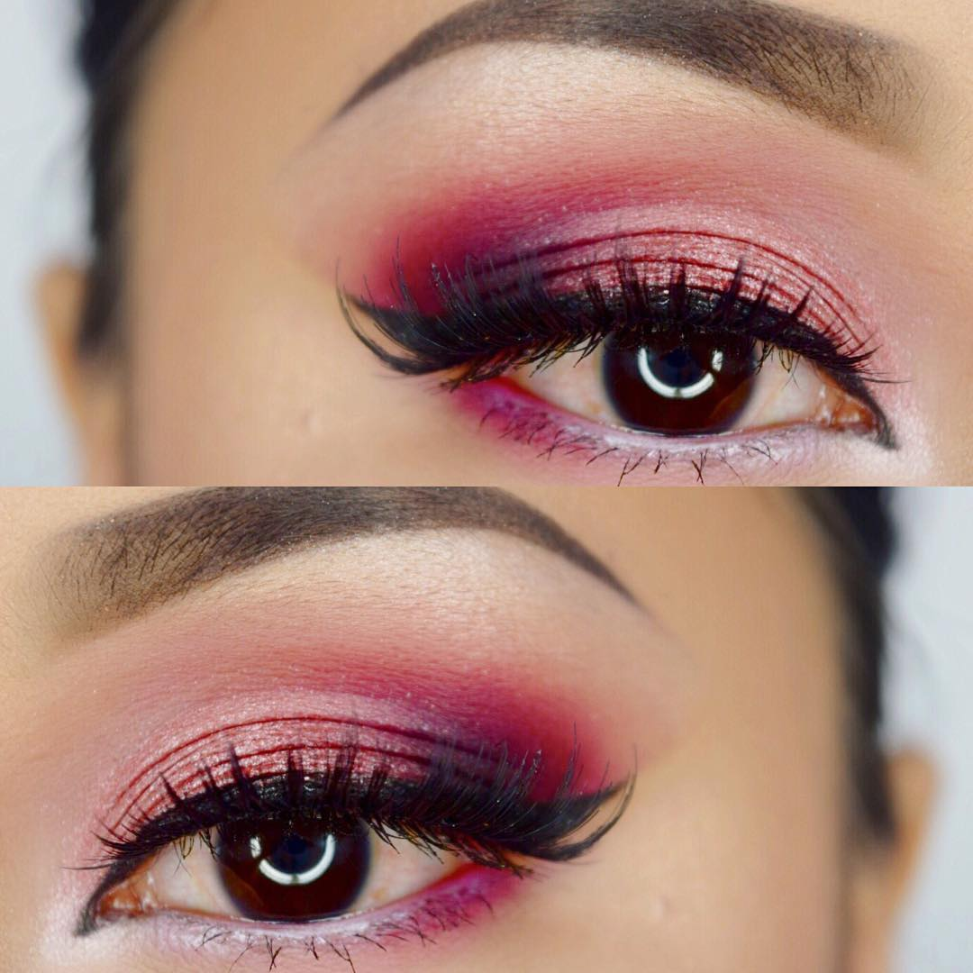 Pretty Pink Eye Makeup
