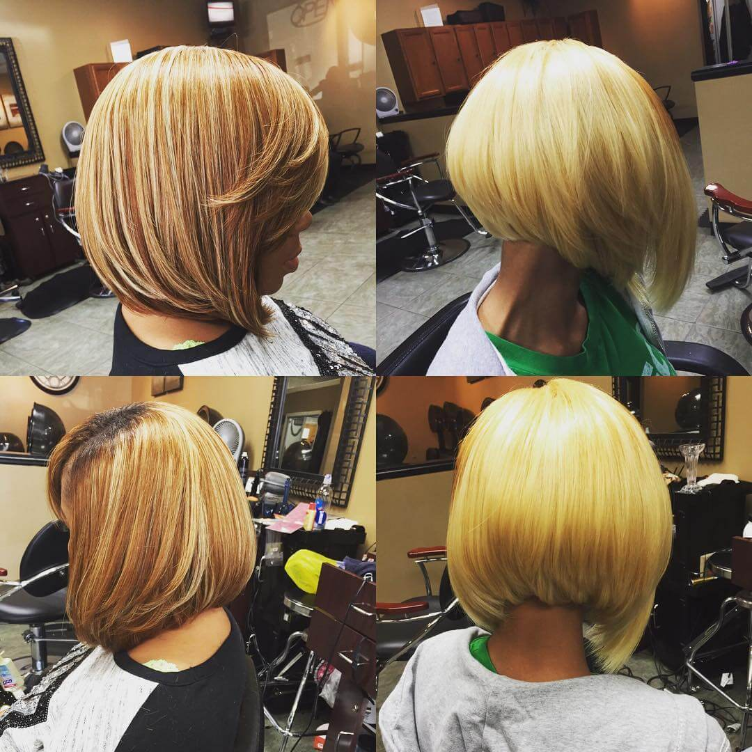 quick sew in bob haircut design