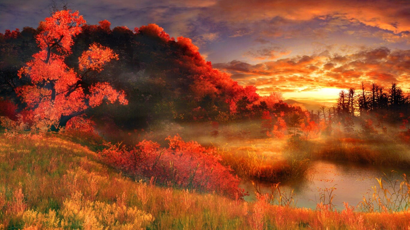 Nature Art HD Wallpaper
