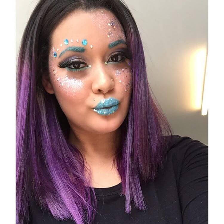 Wonderful Rave Face Makeup (1)