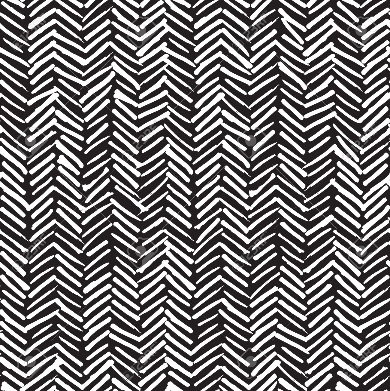 Grunge Chevron pattern