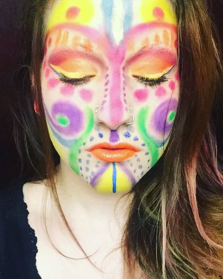 Face Pack Rave Makeup (1)