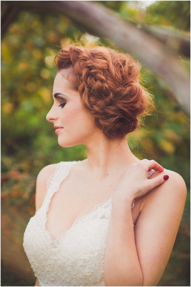 Fabulous Bridal Hairstyle