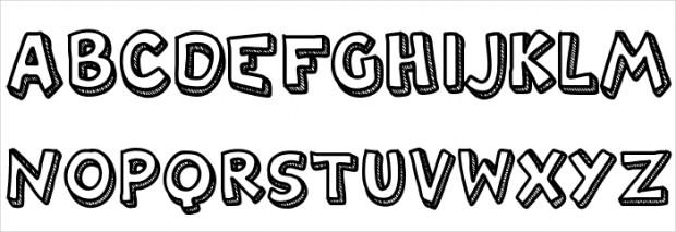 26+ 3D Effect Fonts - TTF, OTF Download | Design Trends - Premium ...