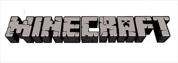 minecraft 3d effect font