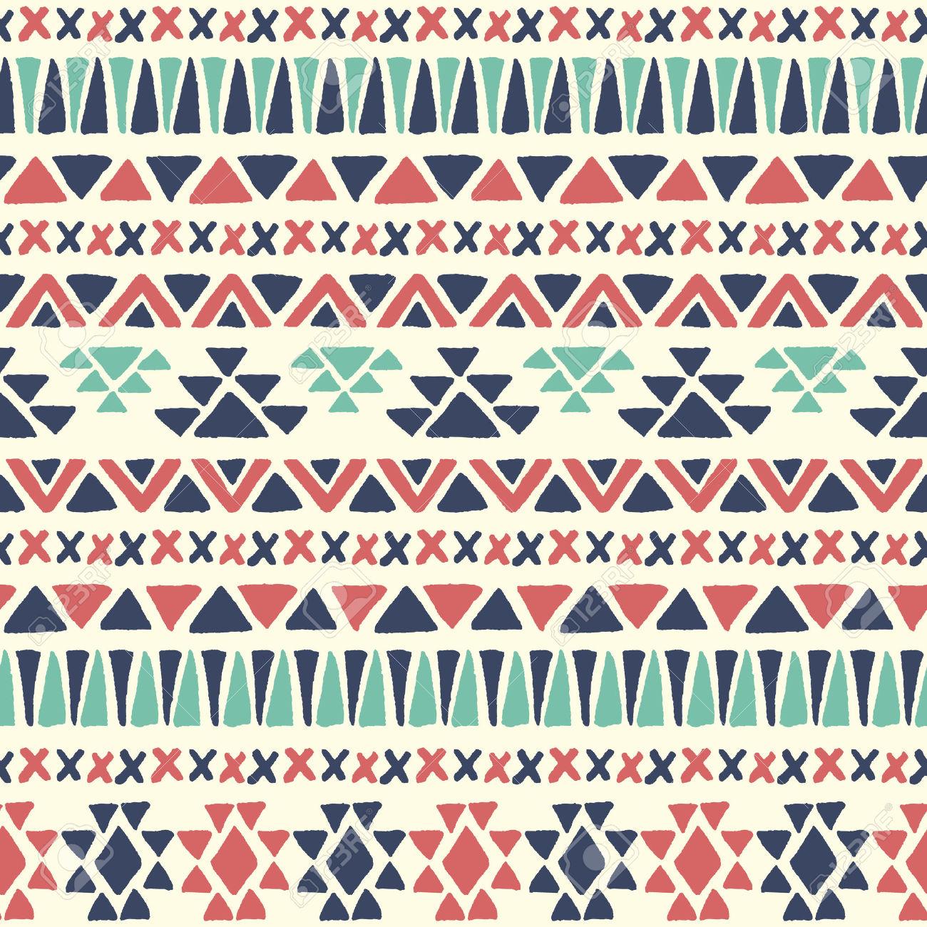 Ethnic Grunge Pattern