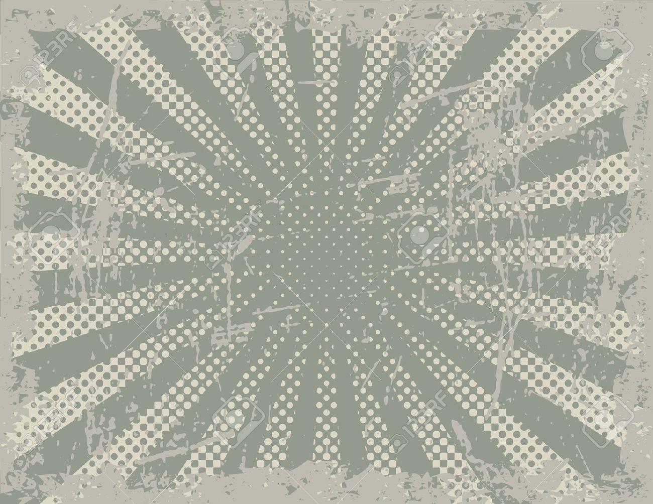 Grunge Retro Pattern