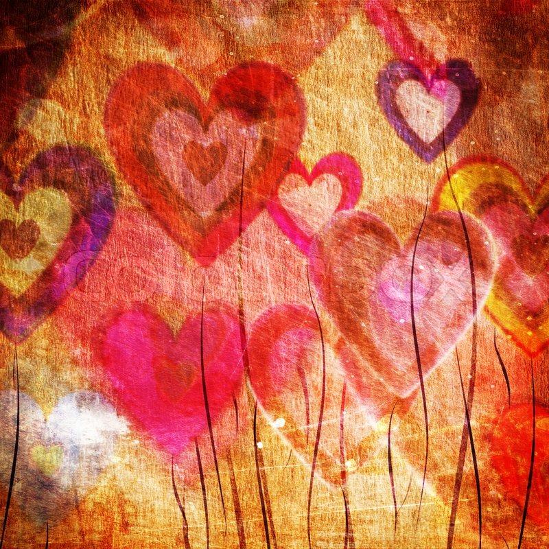 Grunge Love Pattern