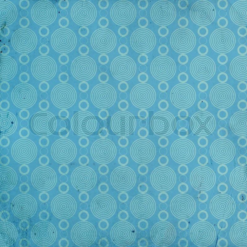Blue Grunge Pattern