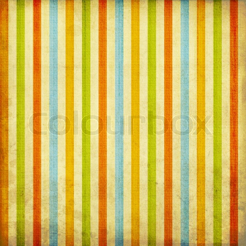 Retro Striped Pattern