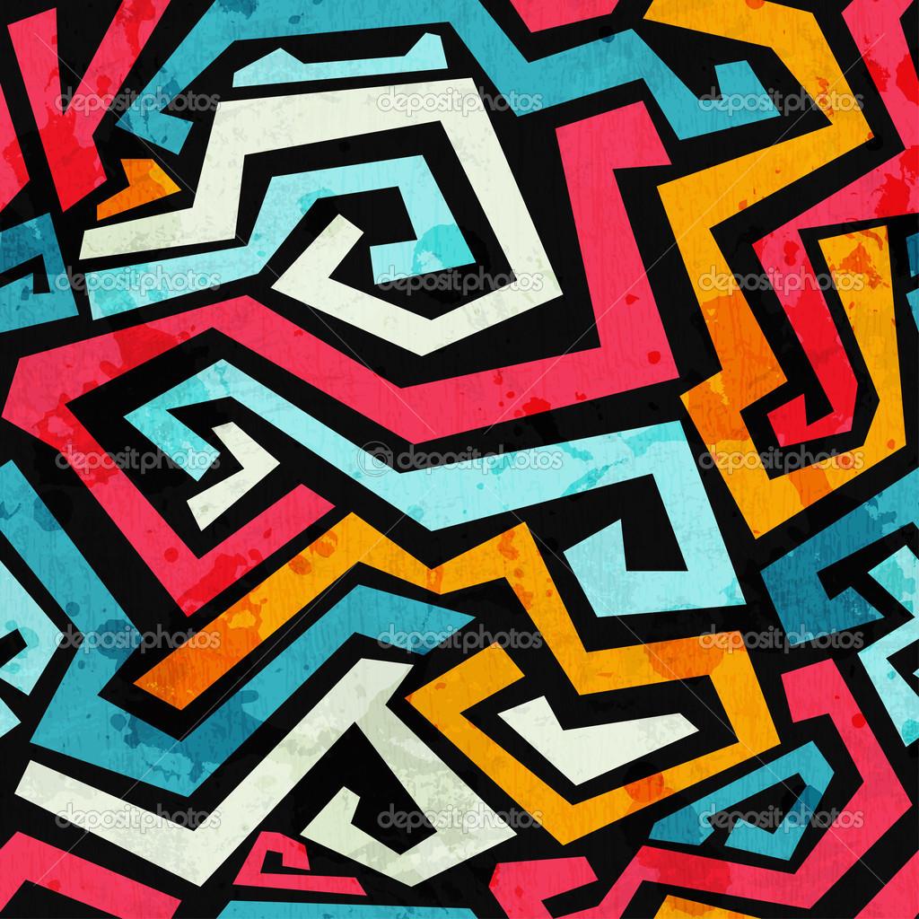 Graffiti Grunge Pattern
