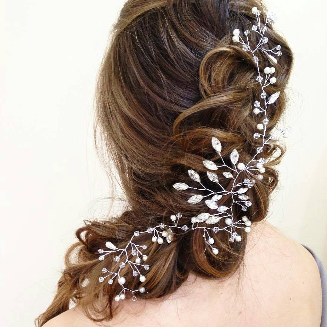 Perfect Beach Wedding Hairstyle