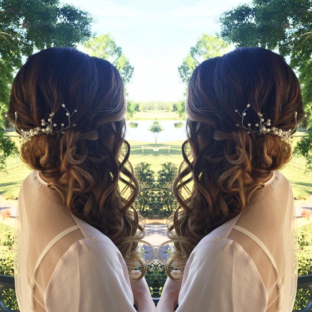 Lovely Wedding Hair Looks So Elegant
