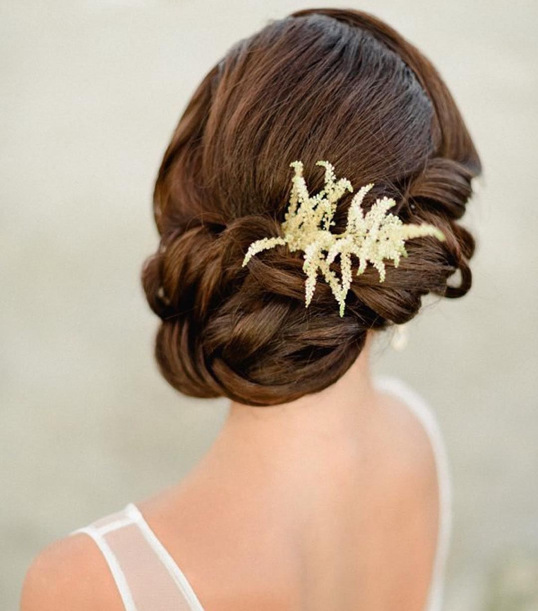 Simple Wedding Hairstyle Design