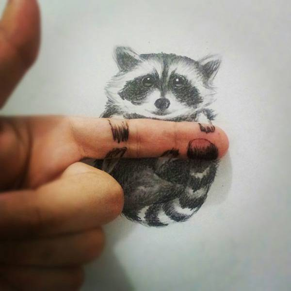 creative 3d pencil drawing