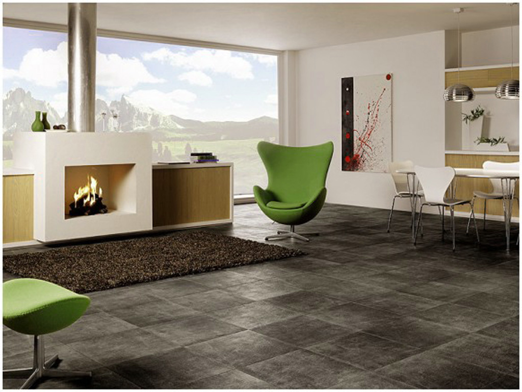 Granite Floor For Bold And