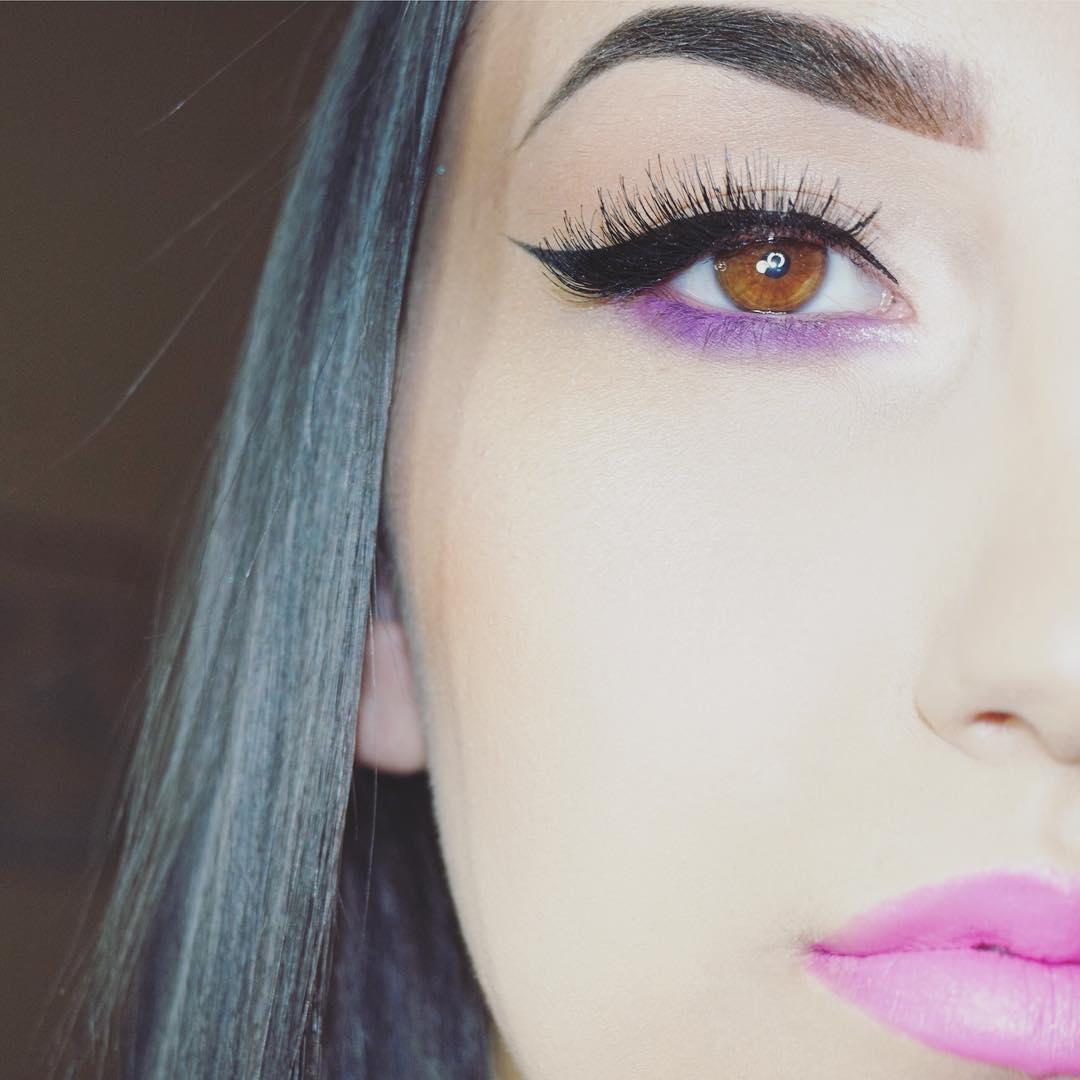 Vintage Eye Makeup Trend