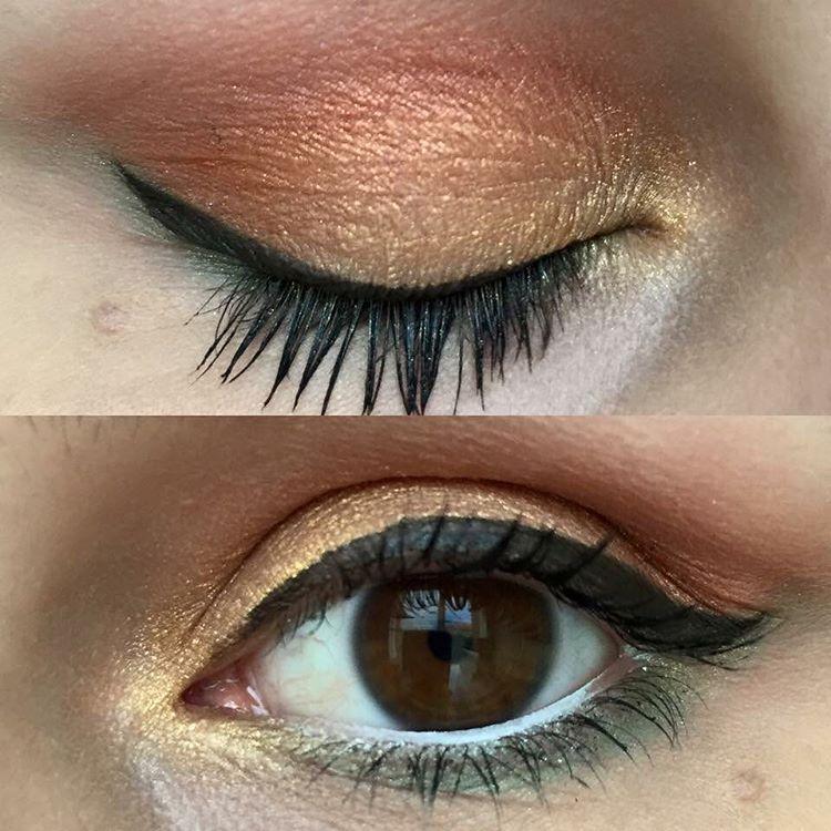 eye makeup for long eyes