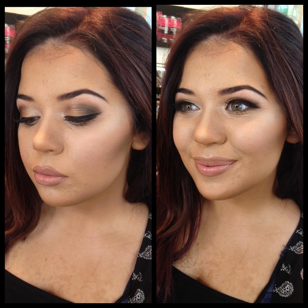 Classy Makeup Design Idea