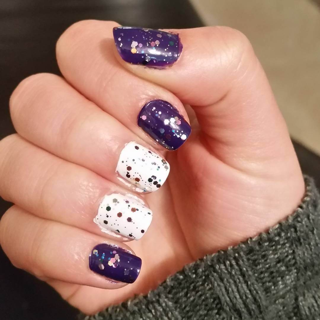 Glittering Diy Nail Art (1)