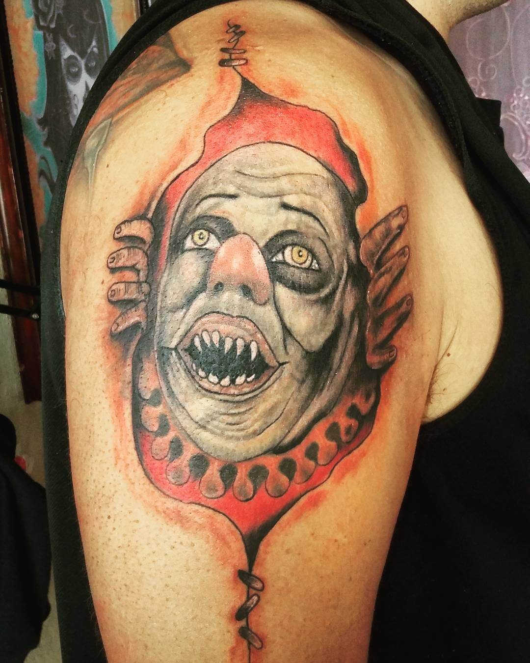 Clown Tattoo Ink