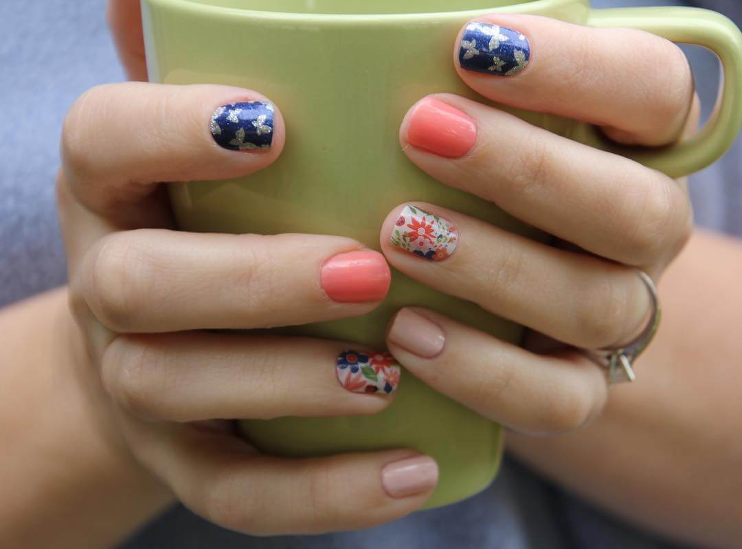 easy diy nail art 1