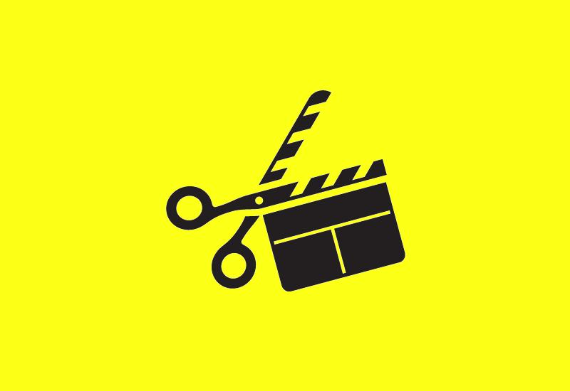 creative scissors logo design