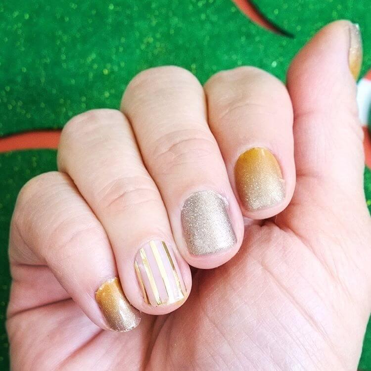 siver cool diy nail art 1