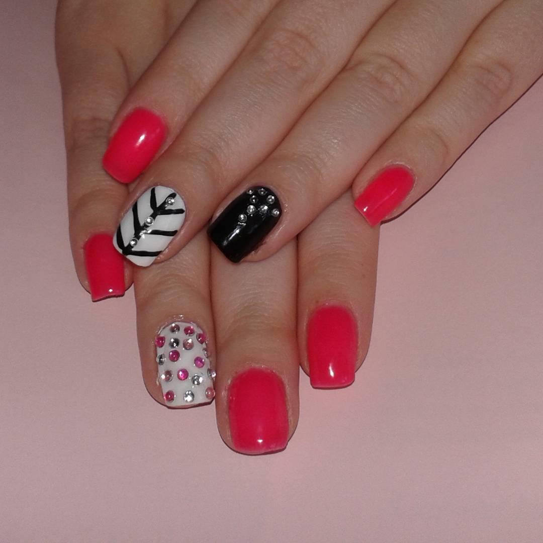 Colorful Nail Art Design (1)