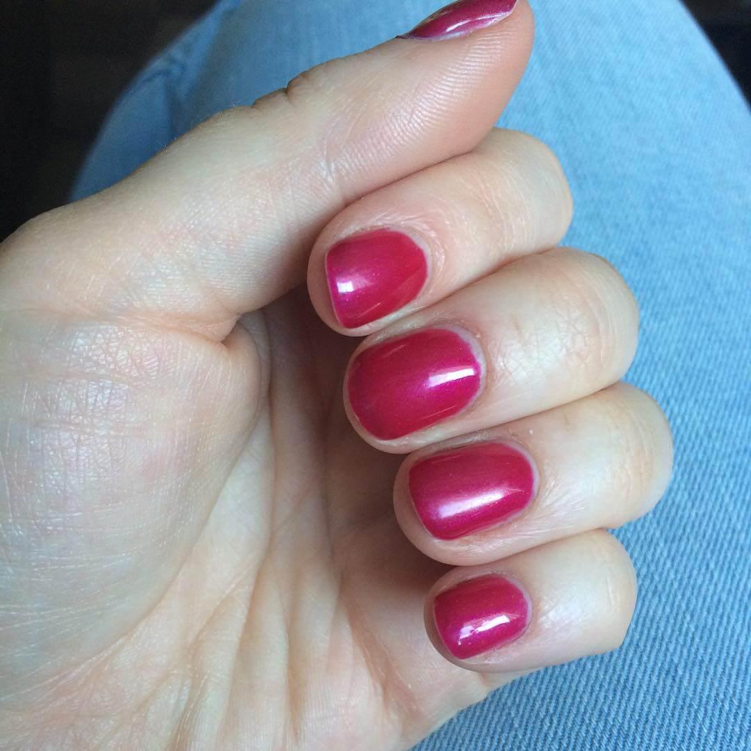 Pink Diy Nail Art Design (1)