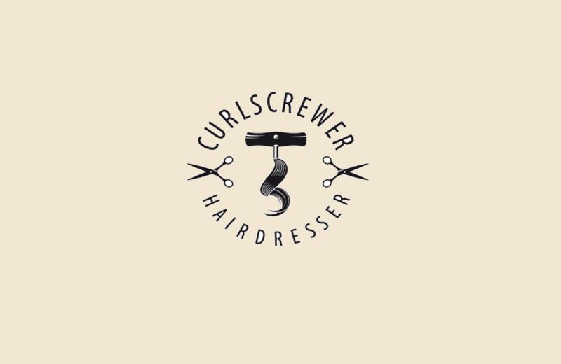 scissor logo for hairdresser