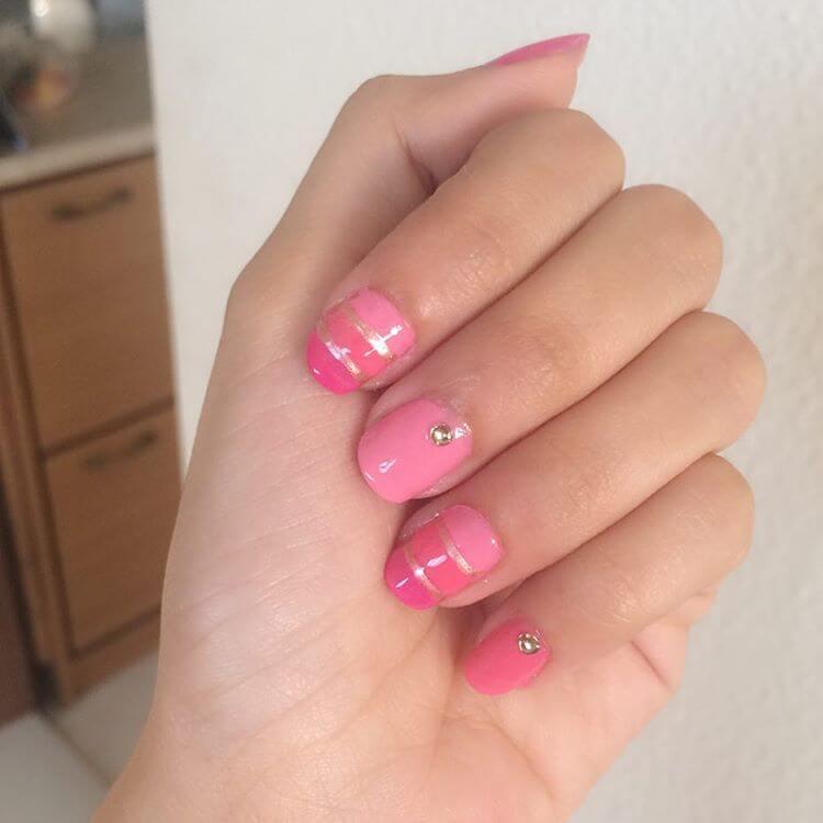 natural diy nail art 1