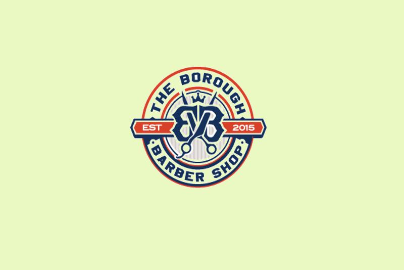 circular scissor logo