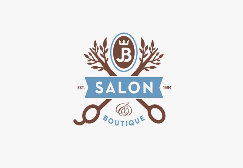 scissor logo for boutique