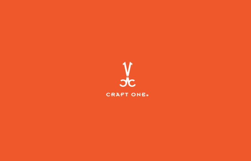 crafts one logo design
