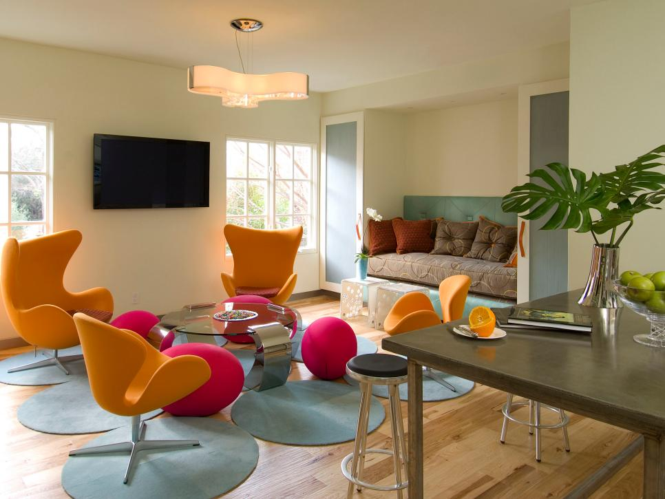 Ultra contemporary furniture and bright look