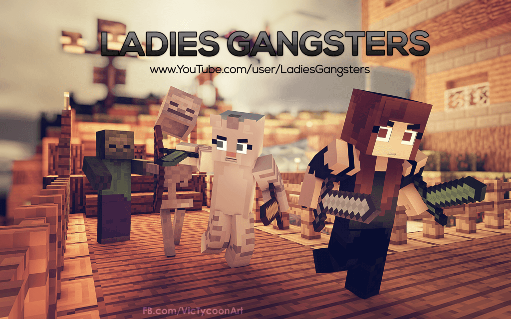 Ladies Gangsters Wallpaper