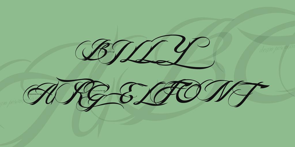 elegant swashes font1