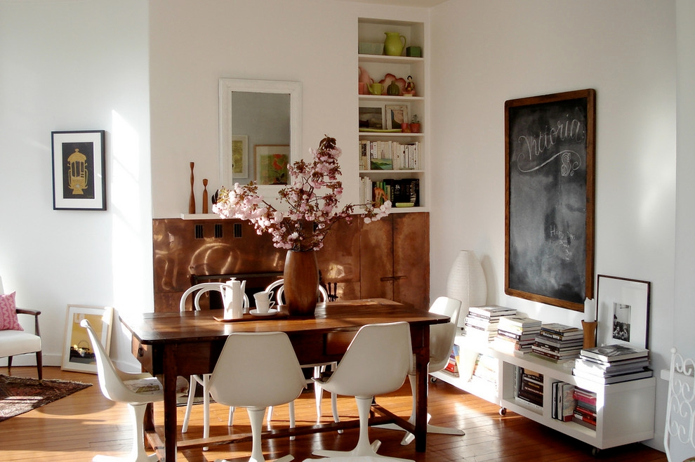 Eclectic Dining Room With Danish Made Furniture