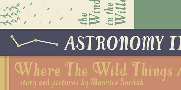 cool typography font