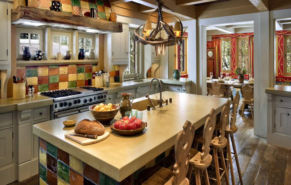 german style rustic kitchen