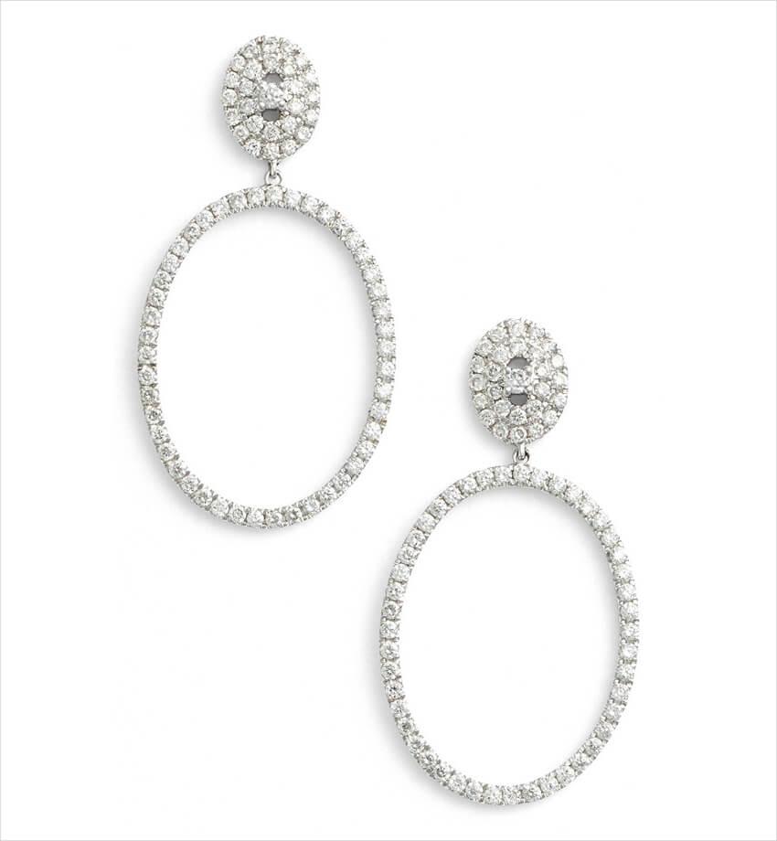 bony lavy kiera pave diamond open circle drop earrings 1