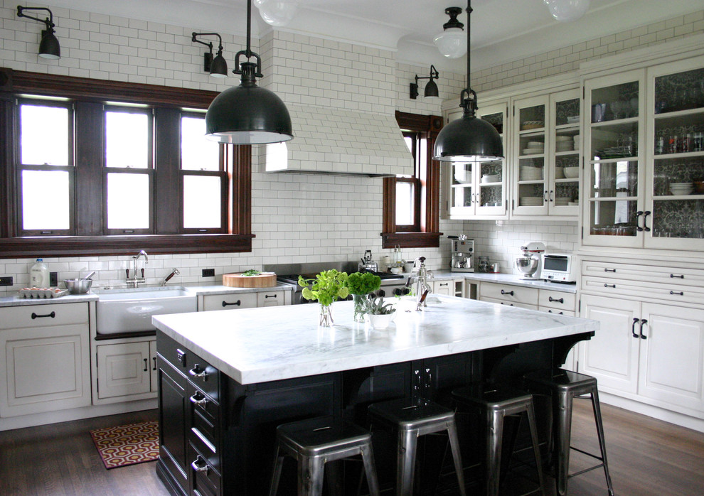 traditional kitchen lab in chicago
