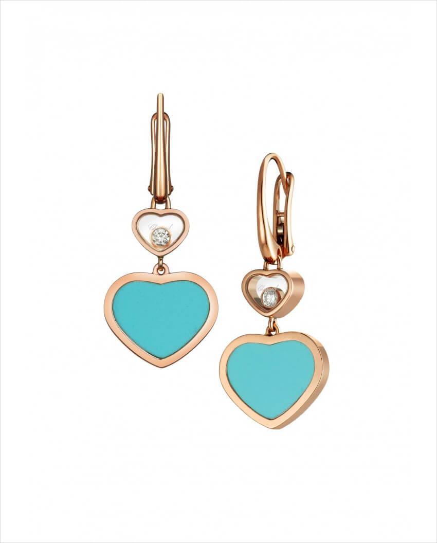 chopard happy hearts earrings 1