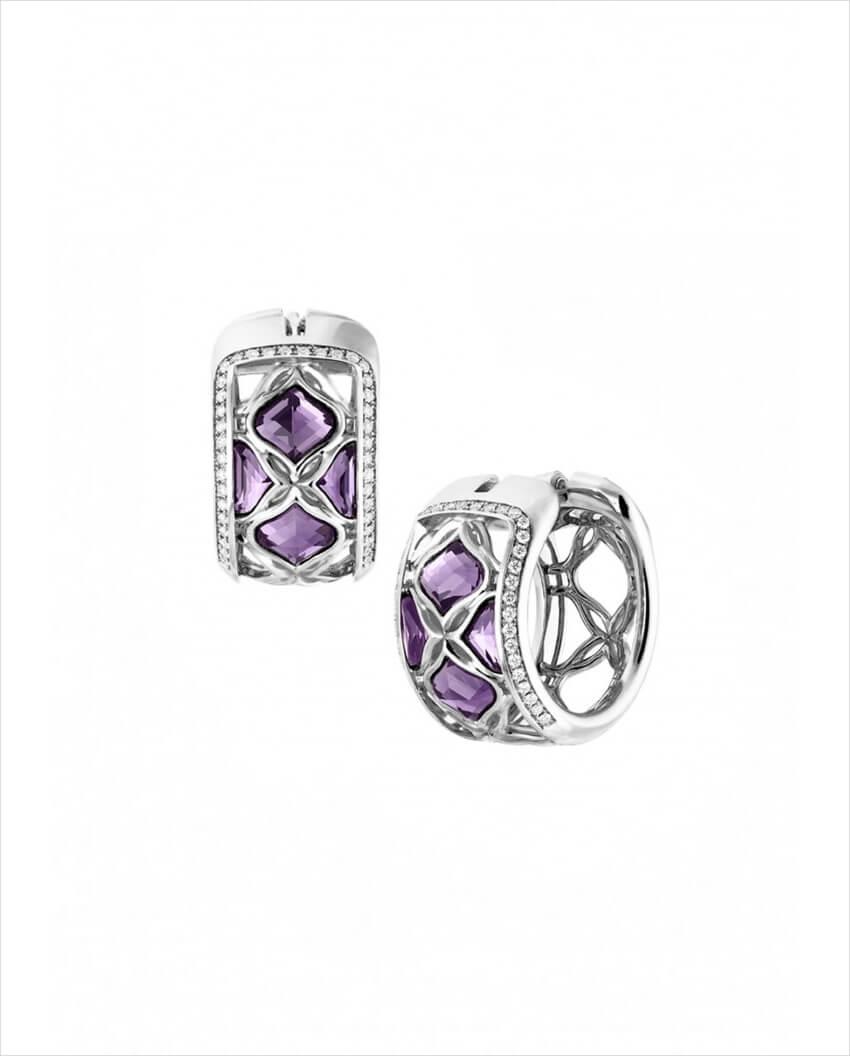 chopard imperiale lace earrings 1