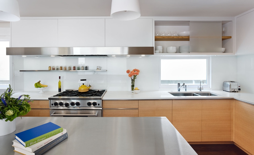 Vibrant White Kitchen Design